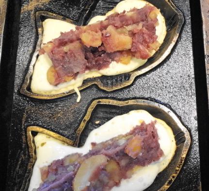 栗いり鯛焼き
