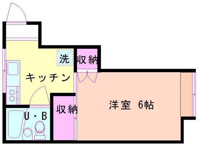 コーポシーガル2(洋室)