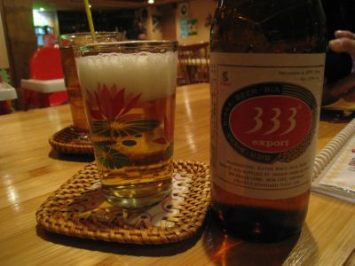ベトナムで大人気のビール♪