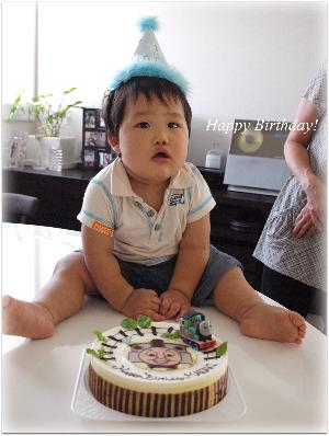 1歳の誕生日♪