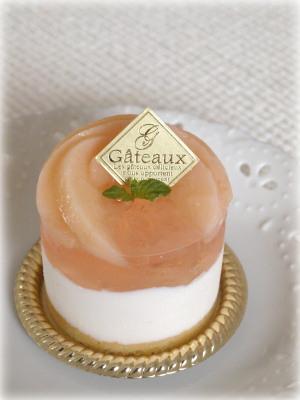 桃のヨーグルトムースプチ2