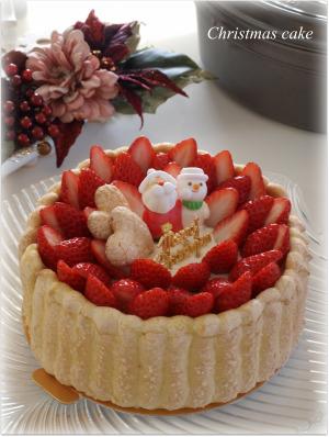 クリスマスケーキ2009♪