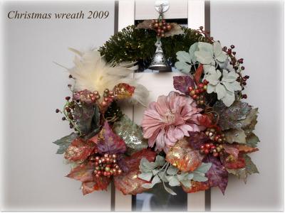 クリスマスリース2009♪