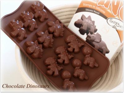 恐竜チョコレート型♪