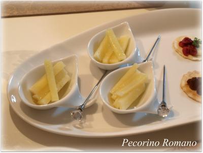 ペコリーノチーズ♪