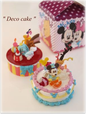 デコケーキ♪