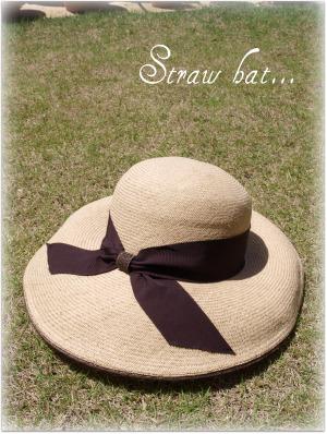 お気に入りの帽子♪