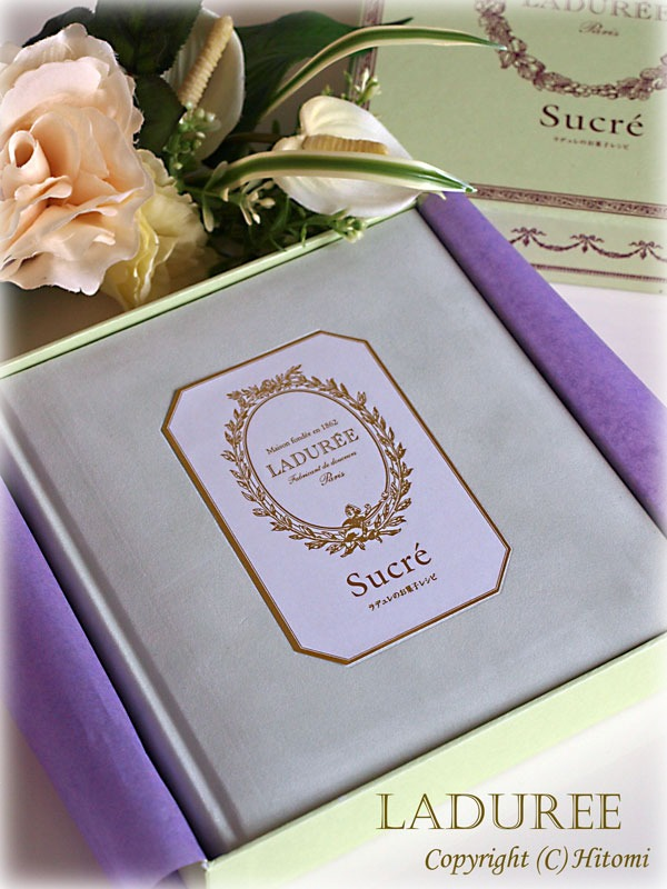 LADUREE BOOK♪