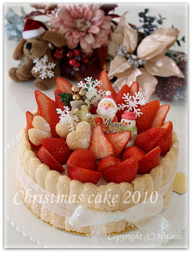 クリスマスシャルロット2010♪