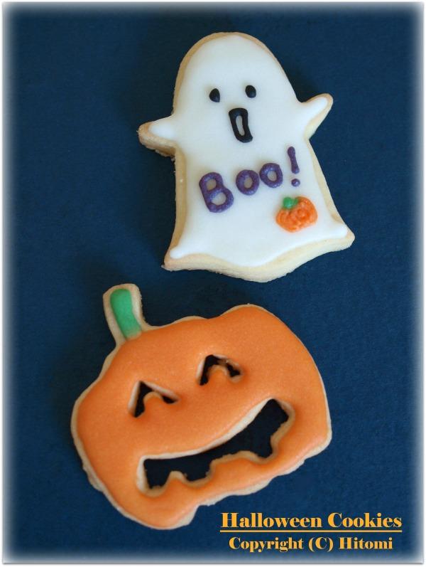 かぼちゃ&ゴースト♪