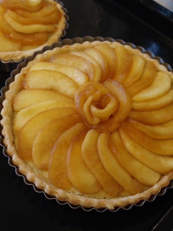 さつまいもとリンゴのタルト工程3