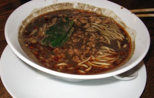 黒ごま坦坦麺