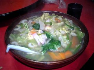 五目野菜ラーメン