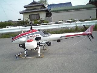 ラジコンのヘリ その2