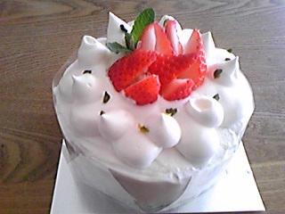 手作りケーキ(お試し)