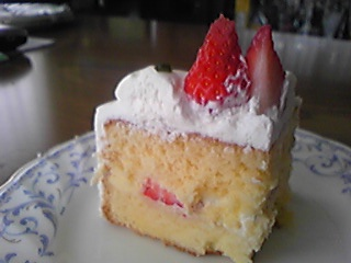 手作りケーキ(お試し)2