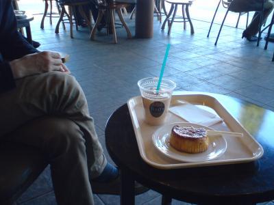 タリーズコーヒーで一休み