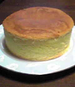 バースデーケーキのスポンジ!