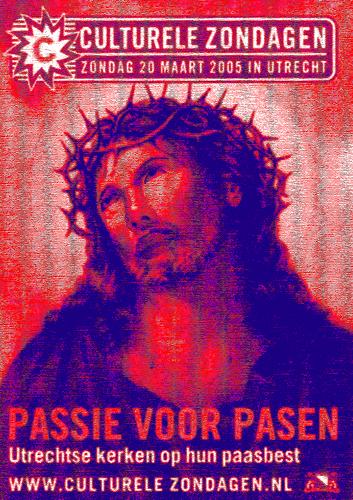 キリストのコピー赤