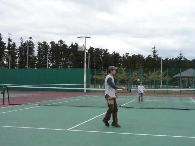 テニス挑戦