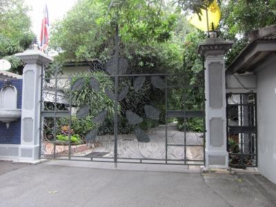 皇室の方のお宅(正門)