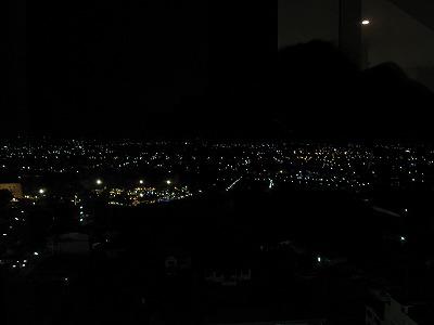 病室からの景色(夜間)1