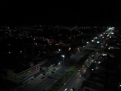 病室からの景色(夜間)2
