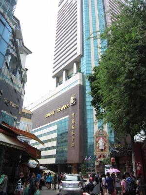 ホテルの外観1