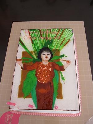 バースデーケーキ(3歳)