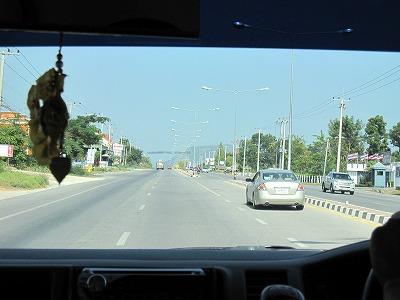 中心地の道路