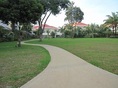 ホテルの遊歩道6