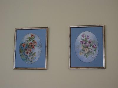 壁の絵(陶器)