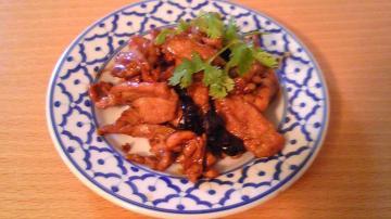 Muu Waan (豚肉と八角炒め)