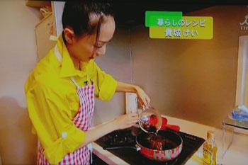 かしちゃん、お料理中♪