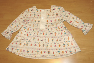 ボタンホールのある服