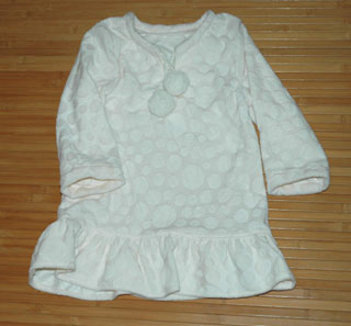 カットソーの型紙で作った服
