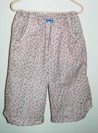 ダブルガーゼのズボン