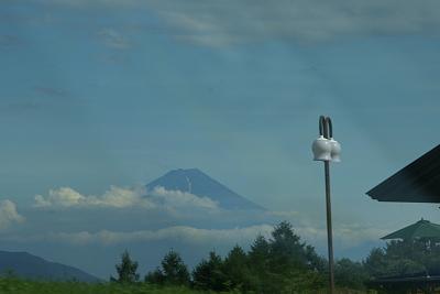 081八ガ岳高原道路から富士山