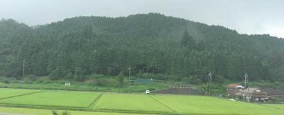 中国自動車道・鹿野付近