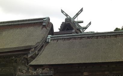 出雲大社・屋根