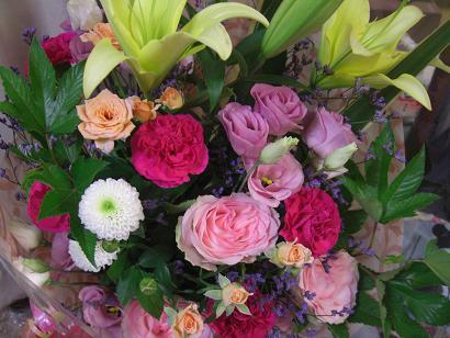 退職記念の花