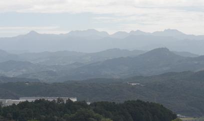 大峰山系081012