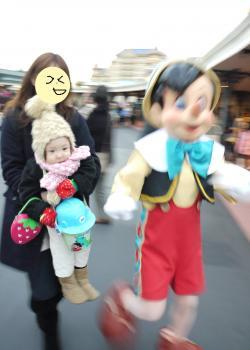 ディズニーランド ピノキオ