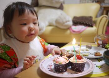 ケーキとなるみちゃん
