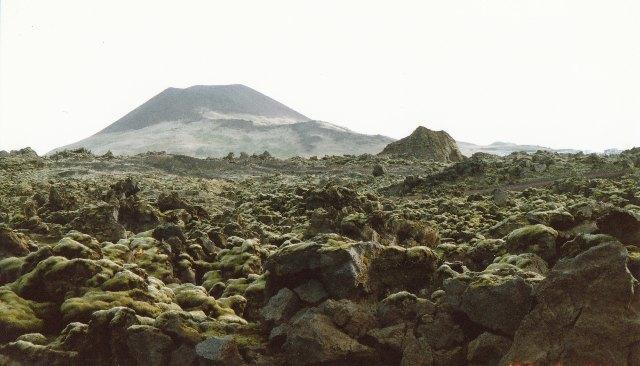 ウエストマン島の火山
