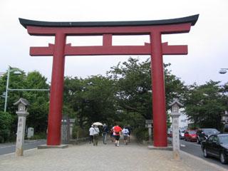 鎌倉①鳥居