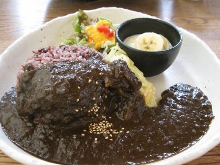 黒米黒カレー