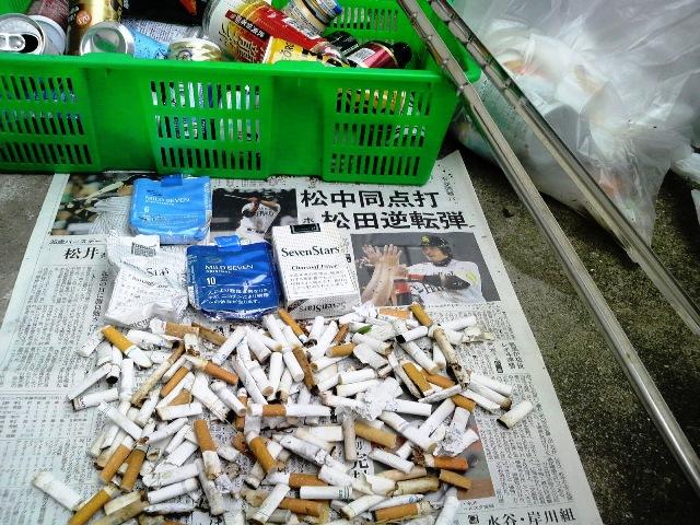 ゴミ拾い:火ばさみ日記