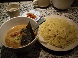 背脂醤油のあ つけ麺[渋谷型]大盛