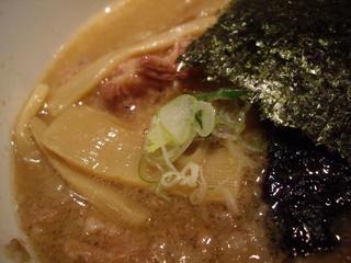 背脂醤油のあ つけ麺[渋谷型]大盛(つけ汁)